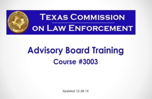 Advisory Board Training